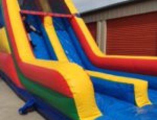 18′ Dual lane wet or dry slide
